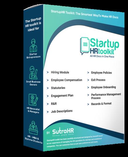 startup HR toolkit box